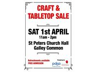 Craft & Tabletop Sale