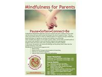 A Mindfulness for parents 10 week course allows parents to reduce stress and improve relationships