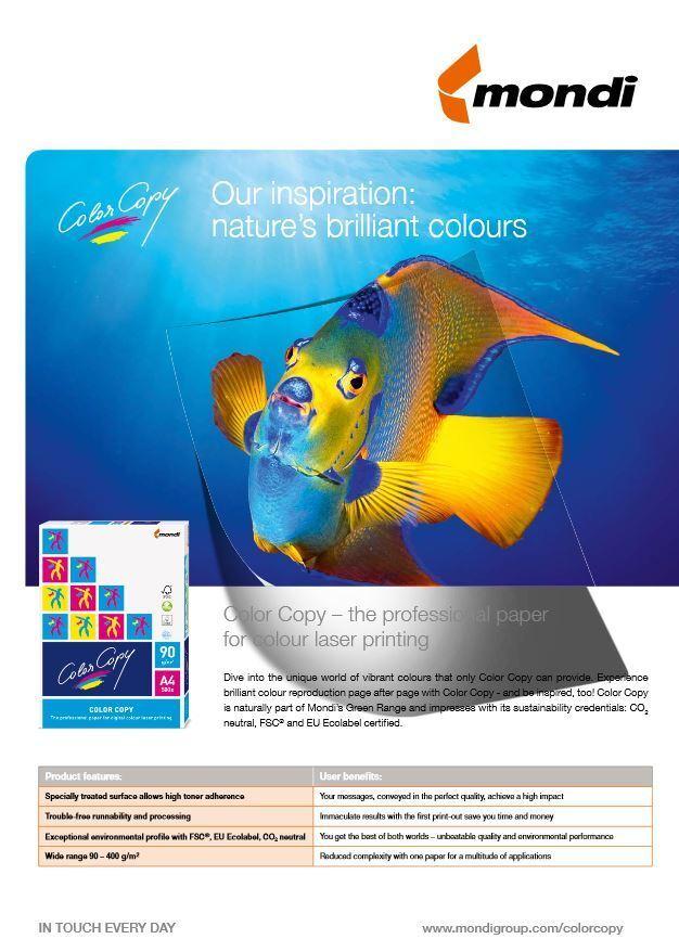 Mondi Color Copy Kopierpapier 90 100 120 160 200 220 250 280 300 350 Papier weiß