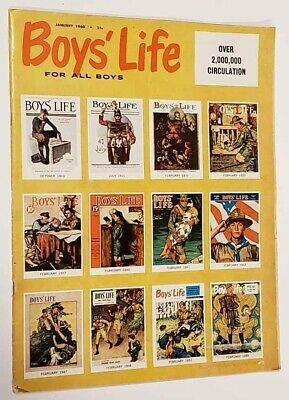 Boys Life Magazine January 1960 12 Best Covers by Normal Rockwell 50 (Best Life Magazine Covers)