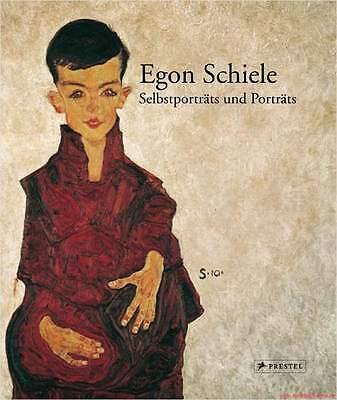 Fachbuch Egon Schiele, Selbstporträts und Porträts, Expressionismus, REDUZIERT
