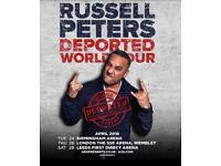 Russell Peters Concert Ticket For Sale