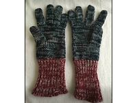 Burton men's wear London gloves (can post)