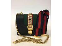 Gucci sylvie small black £200