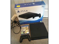 PLAYSTATION 4 SLIM WITH FIFA 17 LIKE BRAND NEW FULLY BOXED