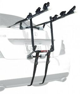 New Allen Deluxe 3-Bike Trunk Mount Rack - Mounted Bicycle Car SUV Carrier Racks