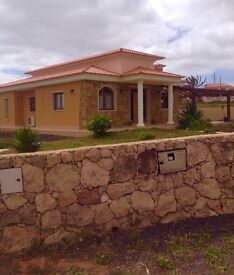 3 bed villa with private pool fuerteventura