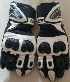 Alpinestars SP Air Leather Motorbike Gloves
