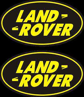 2 Land Rover decals  FREE SHIPPING