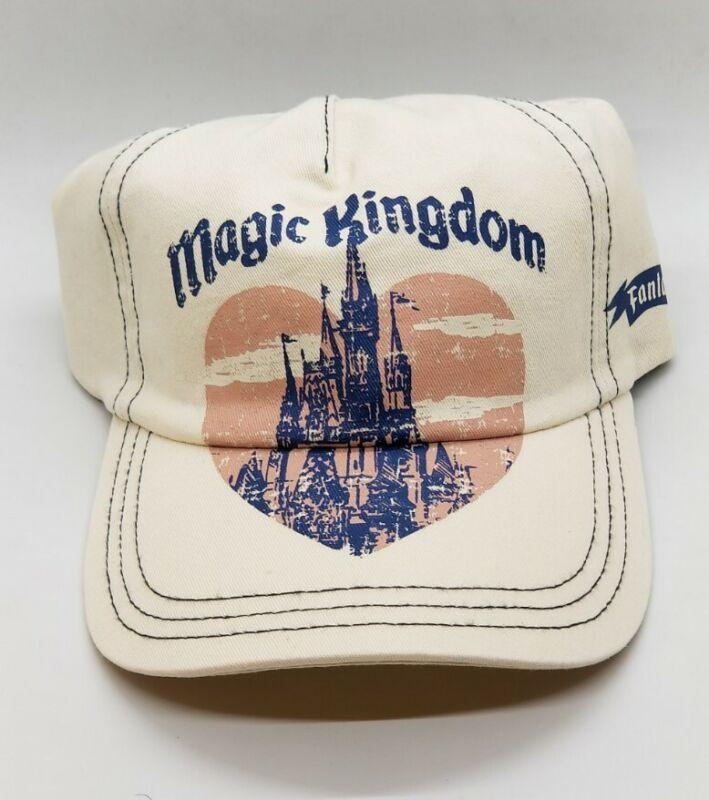 Disney Parks FOREVER JUNK FOOD - Magic Kingdom Castle Fantasyland Hat Cap ADULT