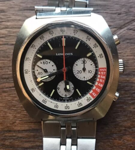 LONGINES CHRONOGRAPH VALJOUX 72 - watch picture 1