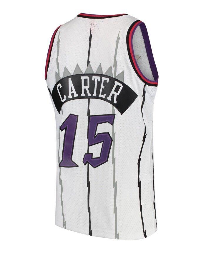Details about 1997-98 White Toronto Raptors Carter Mitchell   Ness Mesh NBA  Swingman Jersey 2892c2f22