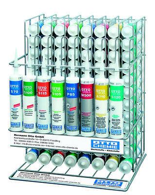 Kartuschenständer für 104 Silikon-Kartuschen Ottoseal S70 S100 S110 S80 S130