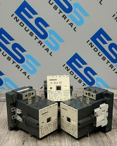(Lot of 3) SIEMENS 3TF-48 Contactor 3 Pole