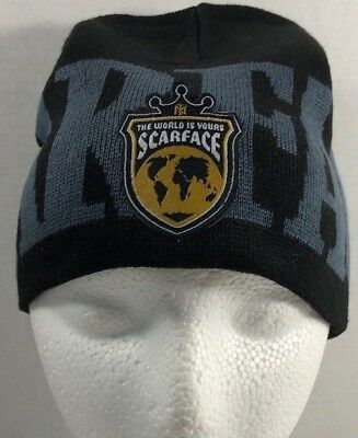 Scarface TM Logo Wool Hat Beanie Knit The World is Yours