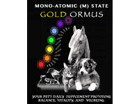 Ormus Monoatomic Gold (m state) Pet & Human Use