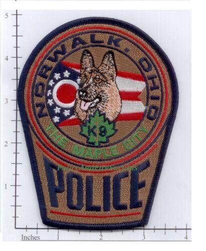 Ohio - Norwalk OH K-9 Police Dept Patch