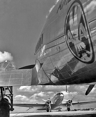 "American Airlines Douglas DC-3 ((8.5""x11"")) Print"