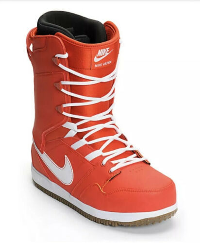 NIKE SB VAPEN SNOWBOARD BOOTS 447125-812 Red White Rare In B