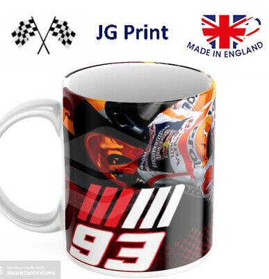 Marc Marquez Respol Honda Moto GP Motorbike Mug