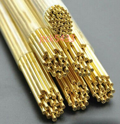 Drilling Electric Discharge Machine Multi-hole Brass Tube 50pcs 1.6-2.1400mm