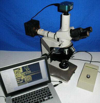 Nikon Labophot 2 Microscope M Bfdf Metallurgical Trinocular