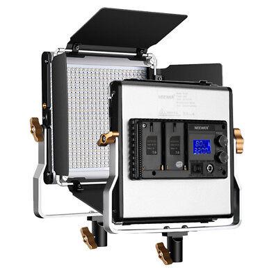 Neewer Studio Upgraded 480 LED Panel, Dimmanable Bi-color LED Video Light