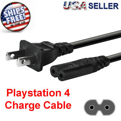 OEM AC Power Cord Cable For Original Playstation PS2 PS3 PS4 Slim / Super Slim