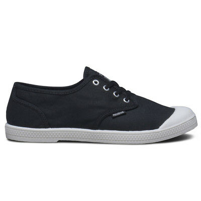 Palladium Women's PallAcitee To Baggy Low Top Canvas Shoe - Black Size 7.5