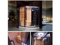 home Sauna & Shower units combines £649.