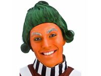 CHARLIE AND THE CHOCOLATE FACTORY UMPA LUMPA FANCY DRESS WIG GREAT FOR PARTY