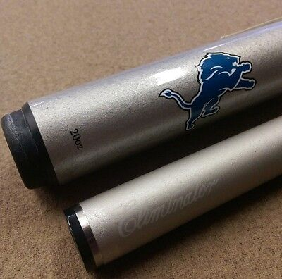 Detroit Lions NFL Pool Cue by Cuetec w/ FREE Extras (Lions Pool)