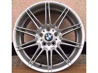 "Bmw Mv4 m sport 19"" Original Genuine Alloy Wheel 8j 9j (MV1 MV2 MV3 MV4 M5 M6) CAN POST"