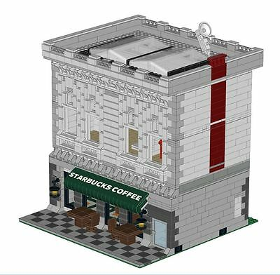 Coffee Store Modular Building Instructions For Lego 10185 10182 10218 10211 Shop