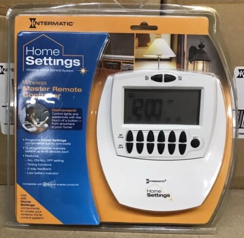 (2) HA07C Intermatic Home Settings WIRELESS MASTER REMOTE Control NEW Z-WAVE