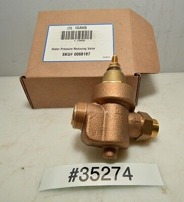 Watts Water Pressure Reducing Valve 1gah5 Inv.35274