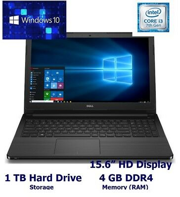 "New DELL Vostro 3568 15.6"" HD Laptop;  Windows 10, WiFi-ac+ BT"