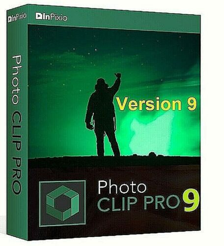 Inpixio Photo Clip 9 Pro 2020 Photo Editor Full Version - Instant Download