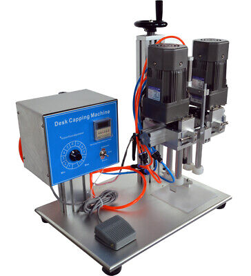 Automatic Closure Capping Bottle Sealing Machine Spray Pump Cap Sealer Packing