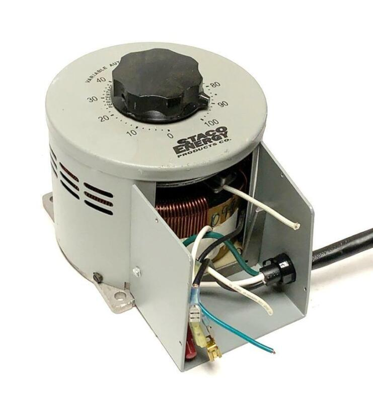 Staco Energy Variable Autotransformer 0-100 Volts
