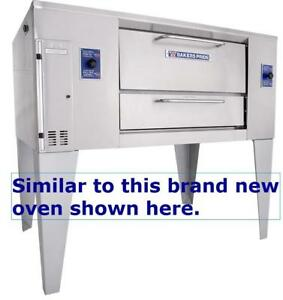 Bakers Pride gas pizza ovens - model D125 - two available