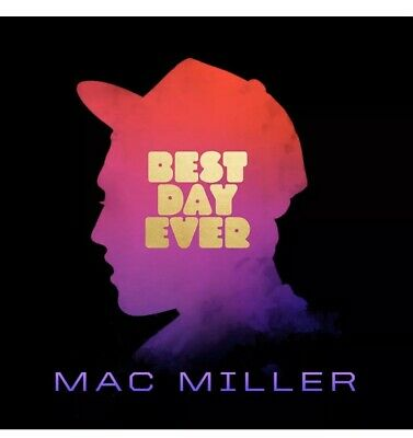Mac Miller BEST DAY EVER +MP3s GATEFOLD Rostrum Records NEW SEALED VINYL 2