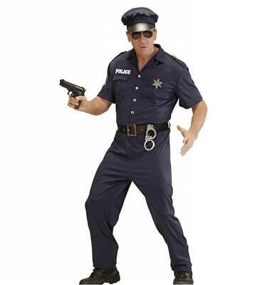 Kostüm Polizist - Polizei Kostüm Größe S  Streifenpolizist Männerkostüm - Polizisten Kostüm Männer