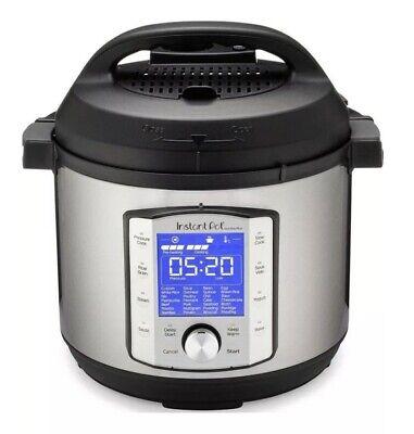 Instant Pot Duo Evo Plus 10-in-1 Multi Electric Pressure Cooker 8 Quart EUC