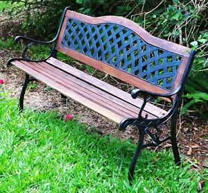 Vintage Cast ron GardenBench Restored. (2 available $175.00 each) Kallangur Pine Rivers Area Preview