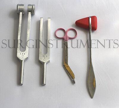 4 Piece Medical Kit Emt Nursing Surgical Ems Student Paramedic Holiday Gift