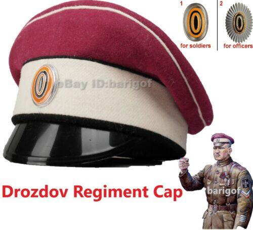 Rare Cap Tsarist Russia General Drozdov  Regiment WWI Hat Oficers, Seniors