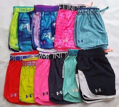 Loose Fit Girls Shorts - UNDER ARMOUR YOUTH GIRLS' HEAT GEAR LOOSE FIT SHORTS, YSM,YMD,YLG & YXL  NWT