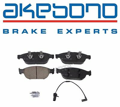 For Audi A6 A7 RS7 S6 S7 12-16 Front Disc Brake Pad Akebono Euro 4G0 698 151 B