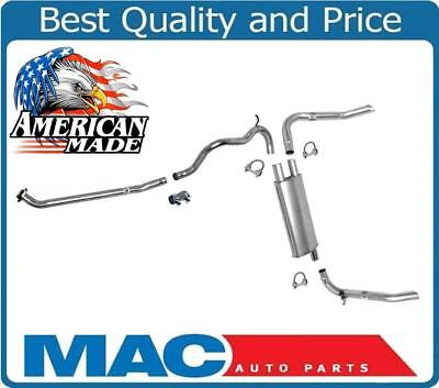 Muffler Exhaust Pipe System MADE IN USA for Chevrolet Camaro 2.8L 3.1L -